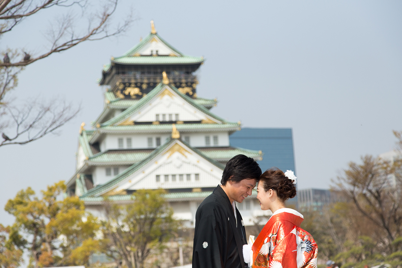 大阪城公園 前撮り